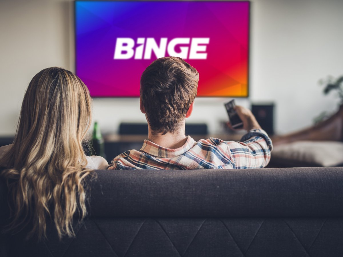 New to BINGE? Enjoy 50% off BINGE for 4 months