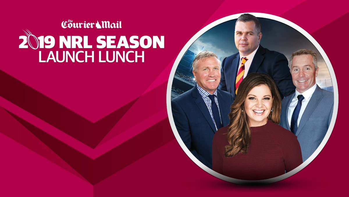 Win 1 of 20 double passes to the 2019 NRL Launch Lunch
