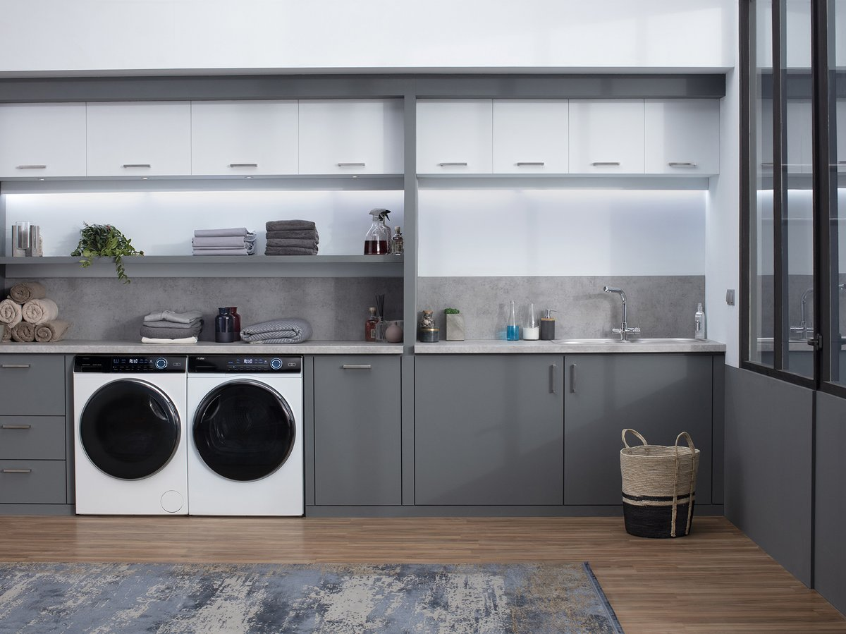Win a Haier Made to Match Washing Machine & Dryer worth over $2,000