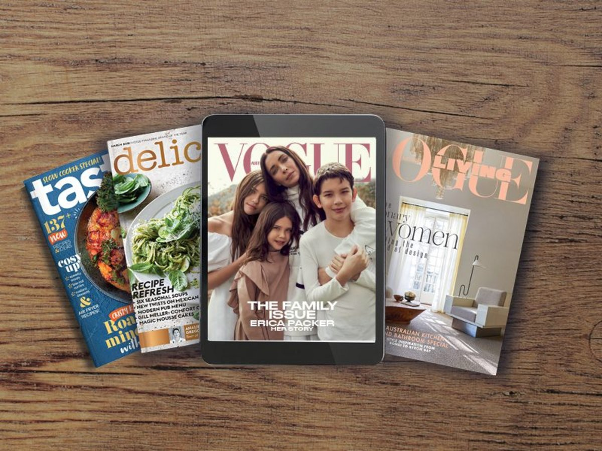 Complimentary 6-month digital magazine subscription