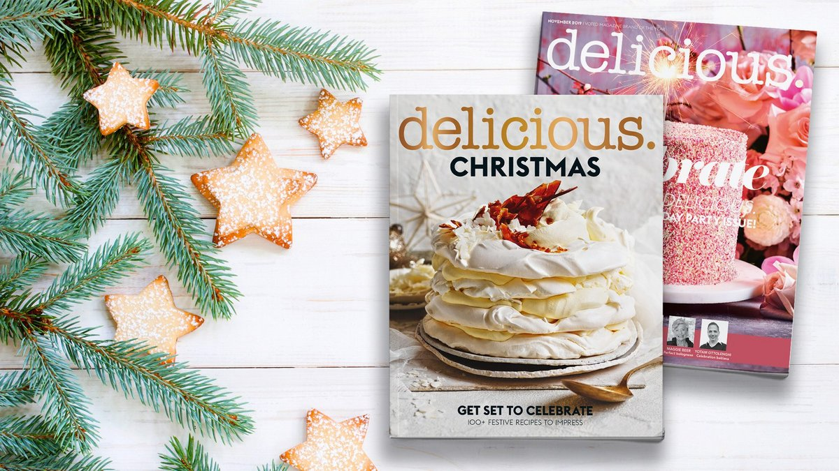 Enjoy a delicious. subscription plus a bonus Christmas Cookbook
