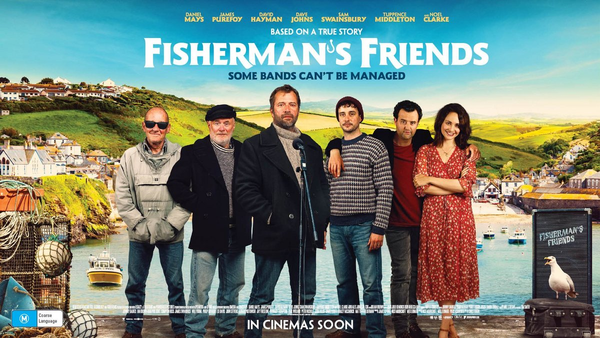 Grab a double pass to 'FISHERMAN'S FRIENDS' in cinemas November 21