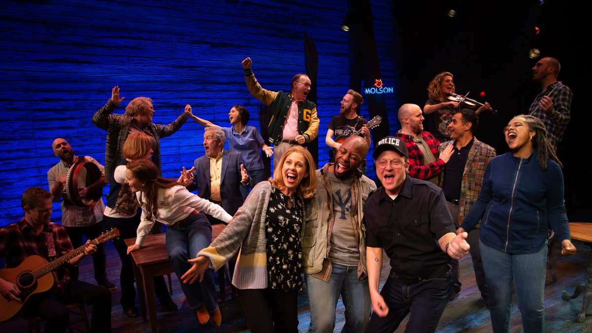 Win 1 of 50 double passes to see COME FROM AWAY
