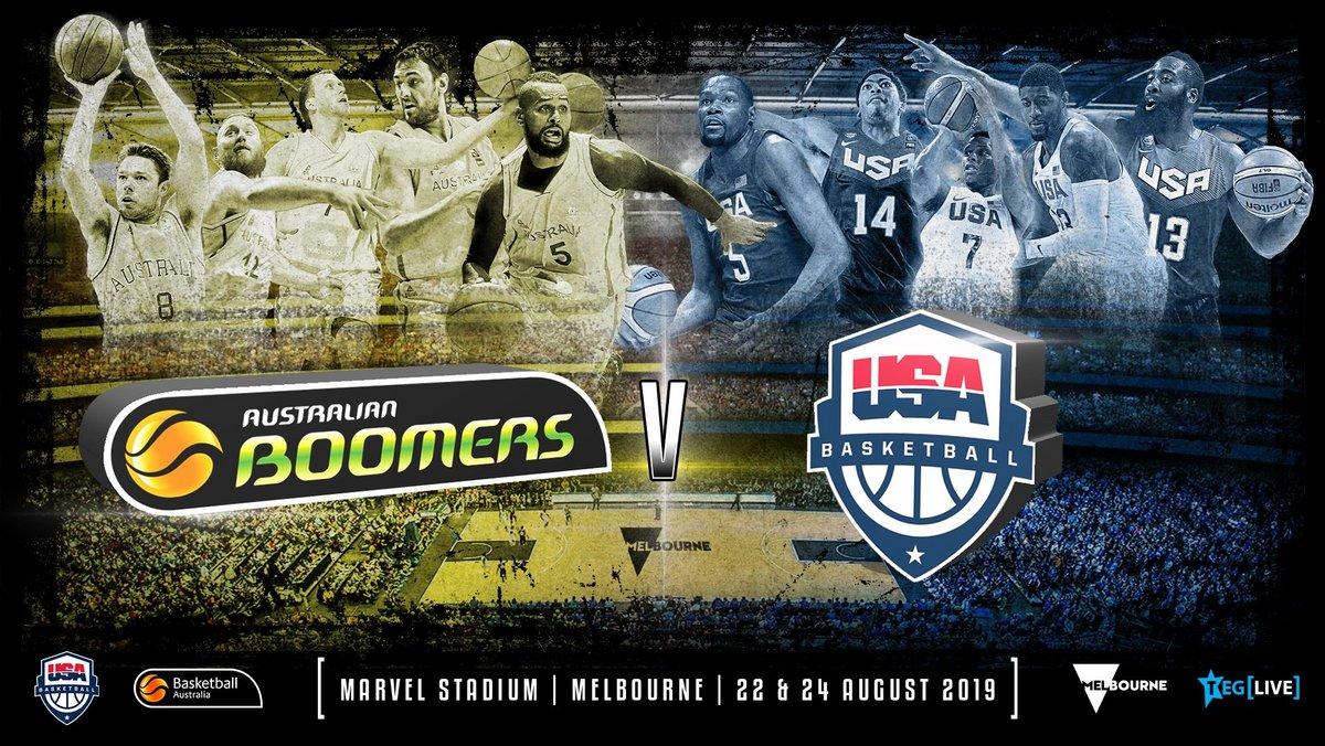 Win a double pass to catch USA Basketball vs Australian Boomers