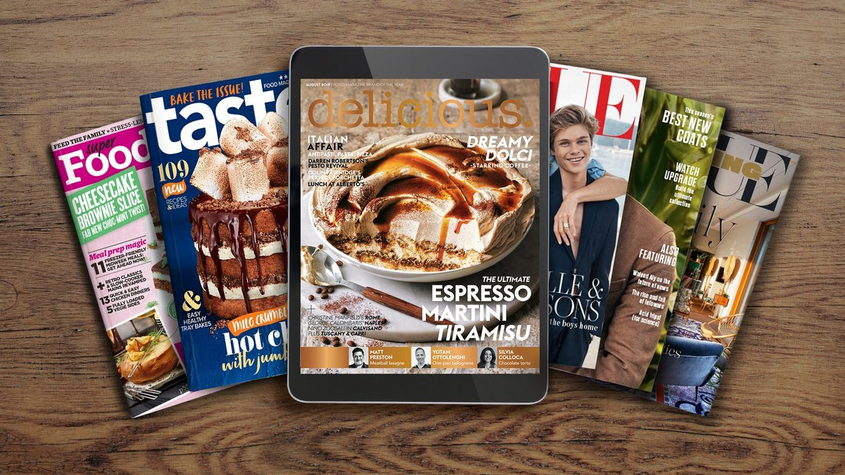 Enjoy a 12 month digital magazine subscription