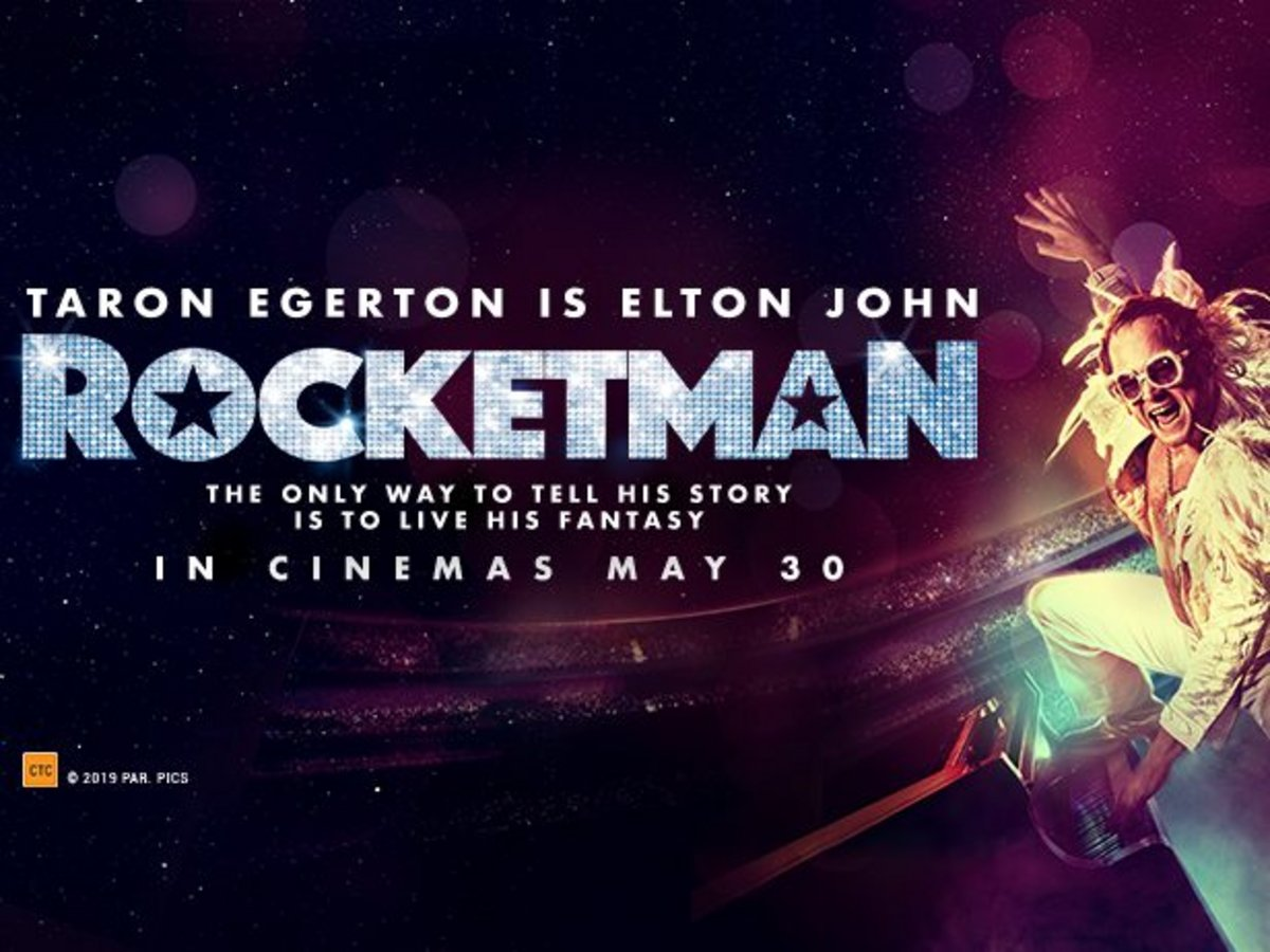 Win 1 of 100 double passes to Rocketman