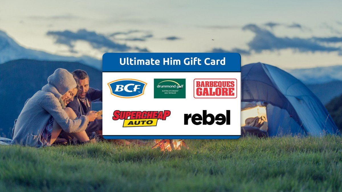 Enjoy 15% off Ultimate Him Gift Cards