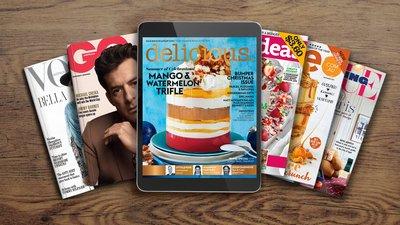 Enjoy a 12 month digital magazine subscription