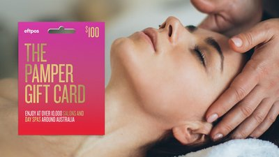 Save 10% Off The Pamper Gift Card