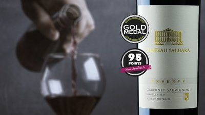 Get a BONUS bottle of the 2015 Chateau Yaldara Reserve Cabernet Sauvignon worth $50 with every dozen wines purchased