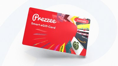 Win one of ten $400 Prezzee Smart eGift Cards
