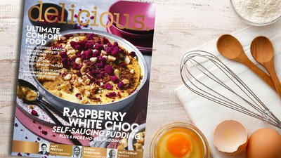 Enjoy 11 issues of Delicious for $61.95