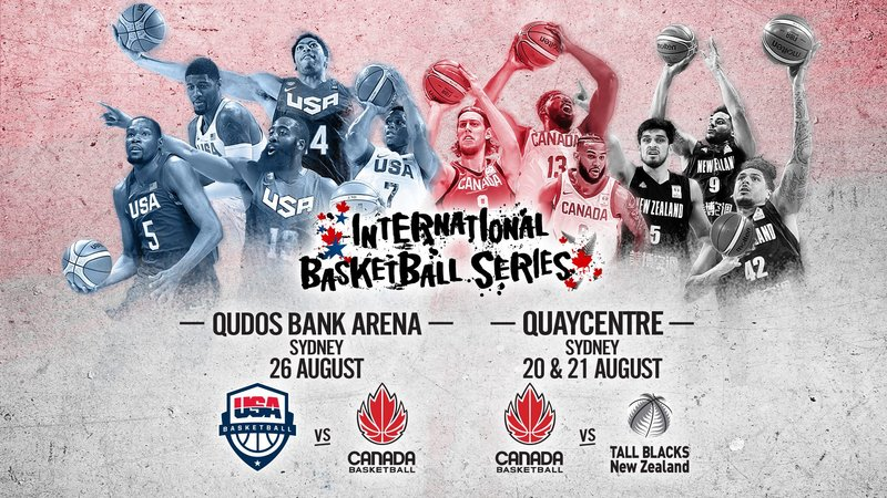 Win a gold double pass to catch Canada take on USA Basketball, or the New Zealand Tall Blacks
